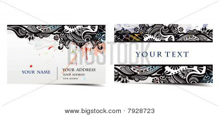 vector business card set, for more business card of this type please visit my gallery .