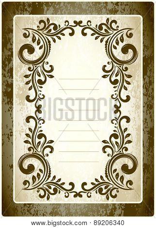 Vintage Lined Frames