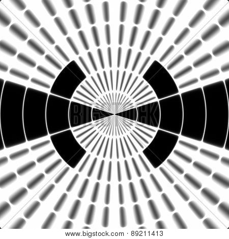 Ray Transmission Tower Or Spotter Symbol