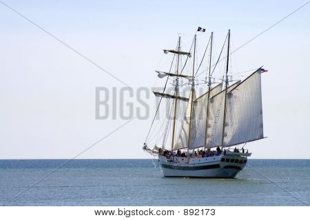 Four Mast Tall Pirate Ship