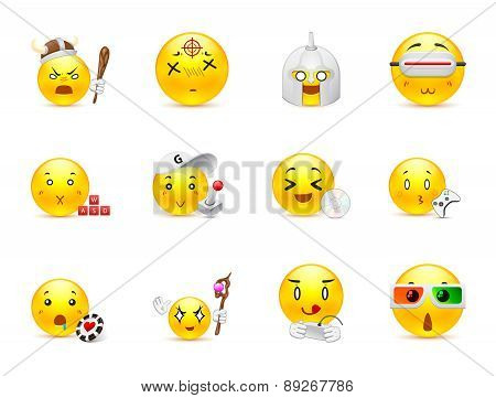 Anime Emoticons That Play