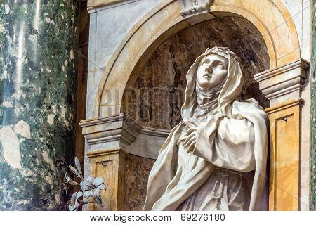 Santa Caterina Da Siena In Siena Cathedral
