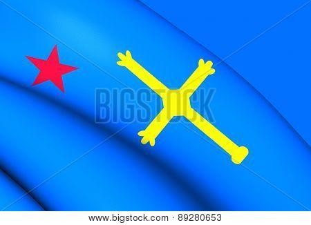 Andecha Astur Flag