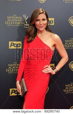 BURBANK - APR 26: Thea Andrews at the 42nd Daytime Emmy Awards Gala at Warner Bros. Studio on April 26, 2015 in Burbank, California