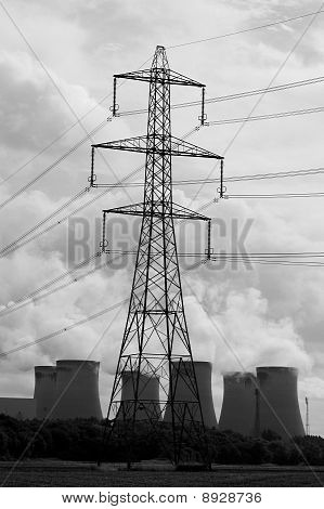 Pylon And Power Station