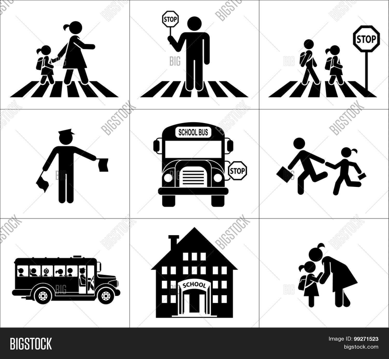 Safety Children Vector & Free Trial