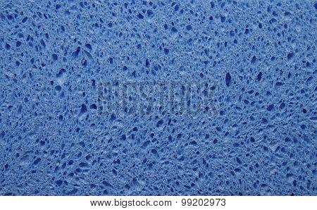 Blue Sponge Texture