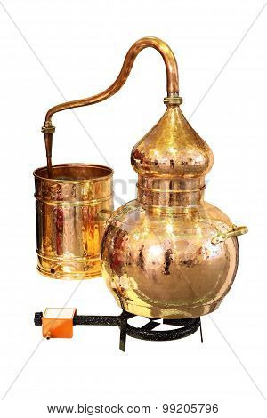 Alembic Copper - Distillation apparatus