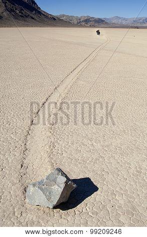 Racetrack Playa, Death Valley (California).