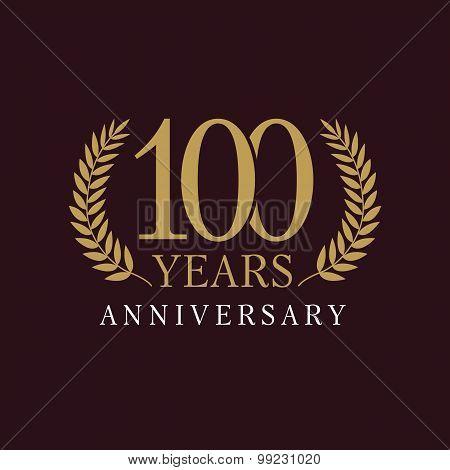 100 anniversary royal logo