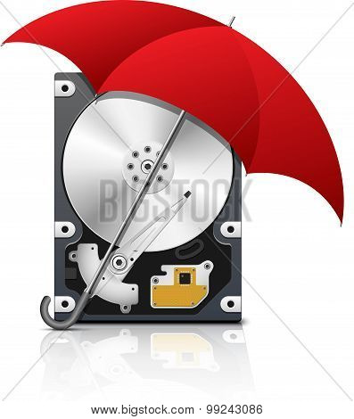 Hdd Protection Icon