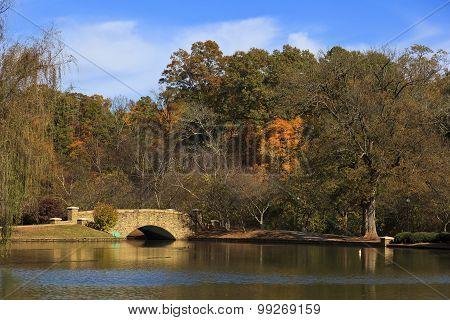 Freedom Park Bridge in Charlotte, North Carolina