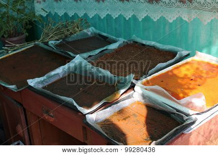 Drying pastilles in the rural environment