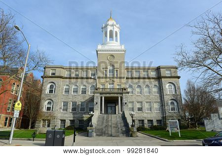 Newport City Hall, Rhode Island, USA