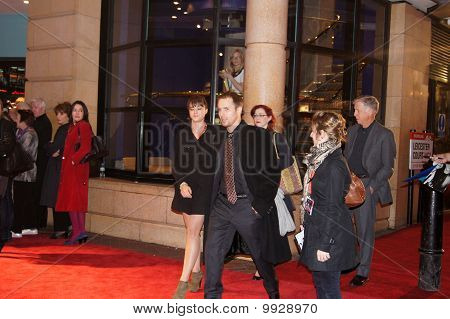 Sam Rockwell At Conviction Premiere In Central London 15 October 2010