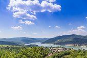 Visegrad Hungary, Danube river poster