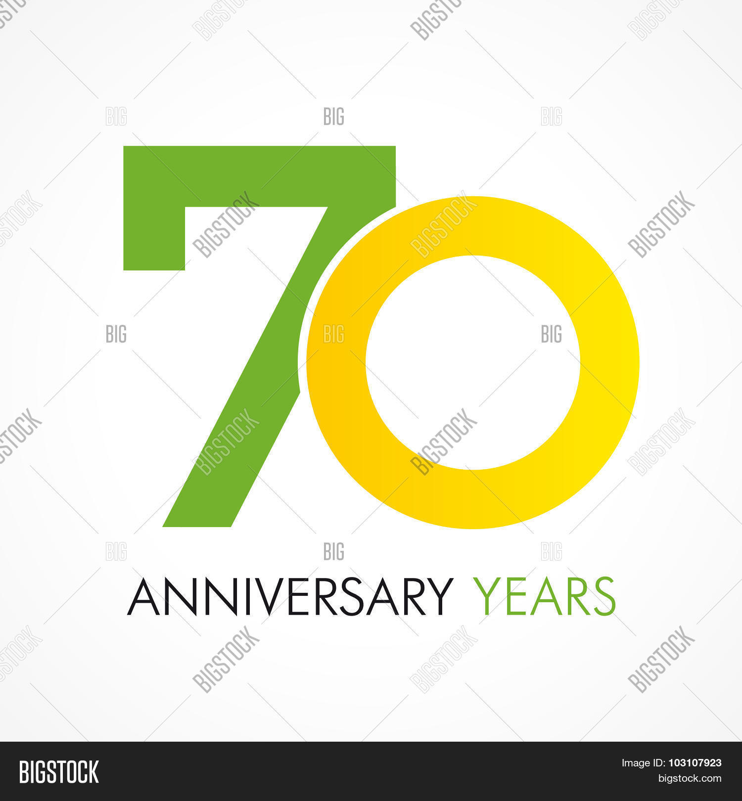 70 Years Old Vector Photo Free Trial Bigstock