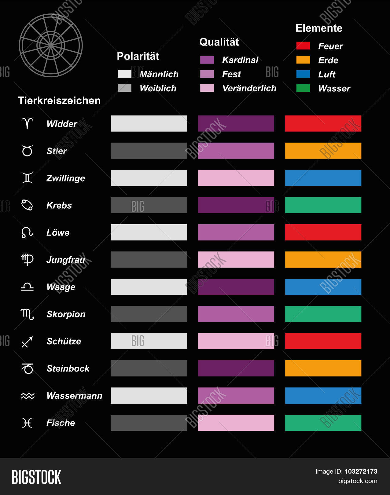 Astrology Chart Vector & Photo Free Trial   Bigstock