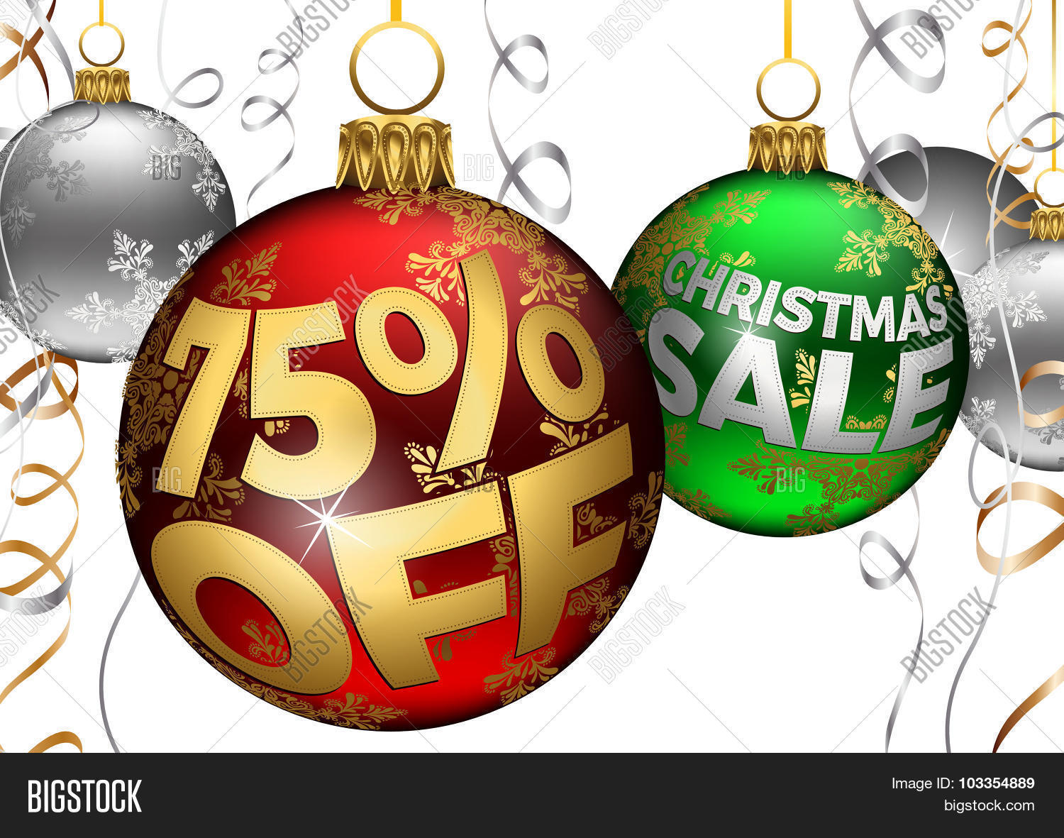 75 off baubles and ribbons christmas sale balls