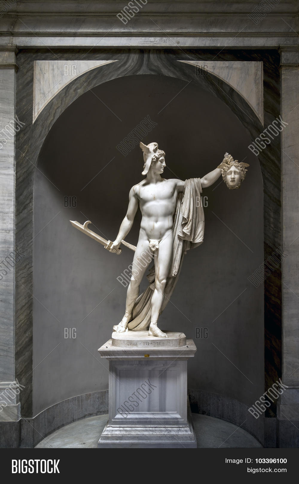 Perseus Triumphant By Image Photo Free Trial Bigstock