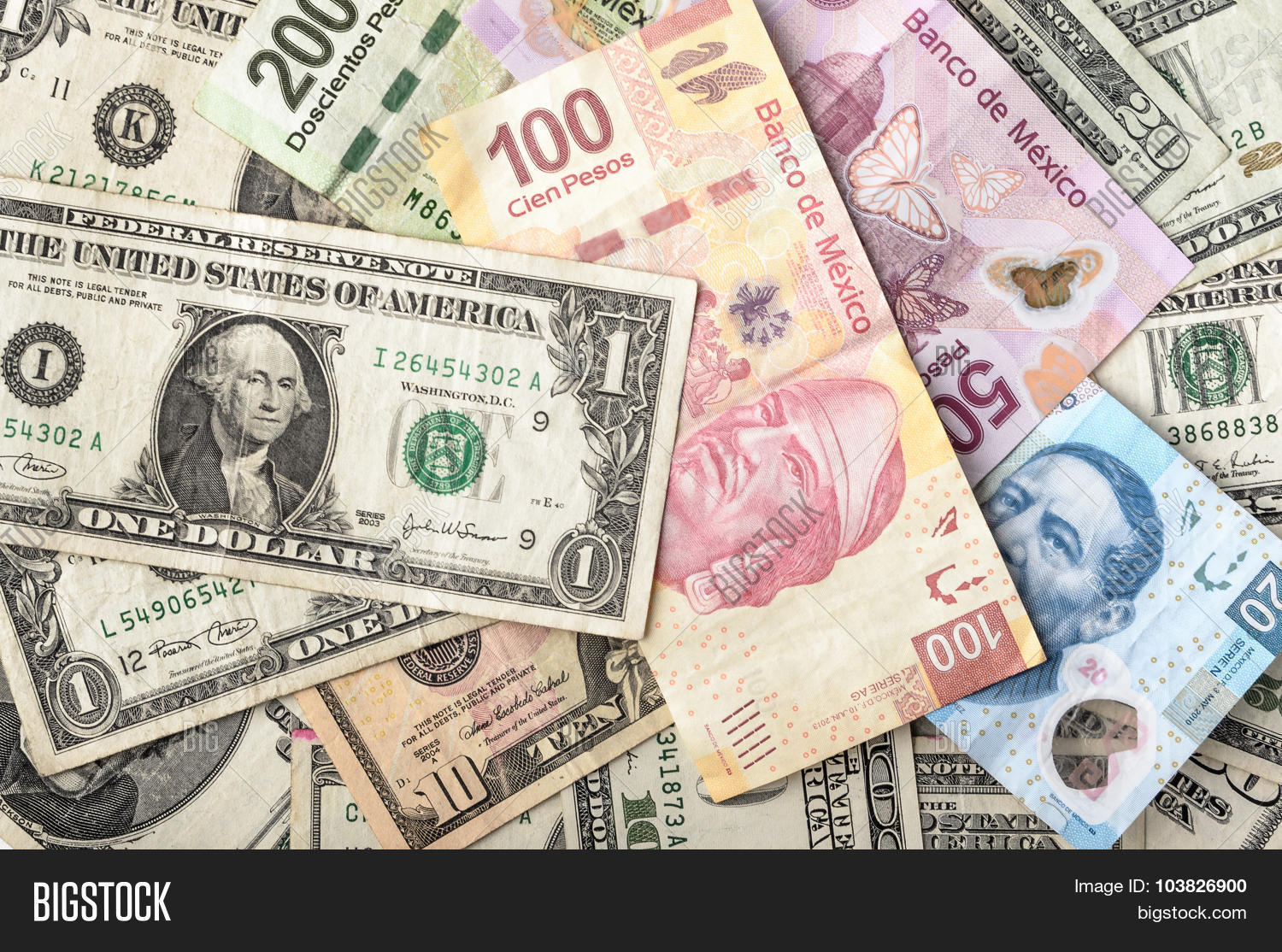 Dollar Mexican Peso Image Photo Free