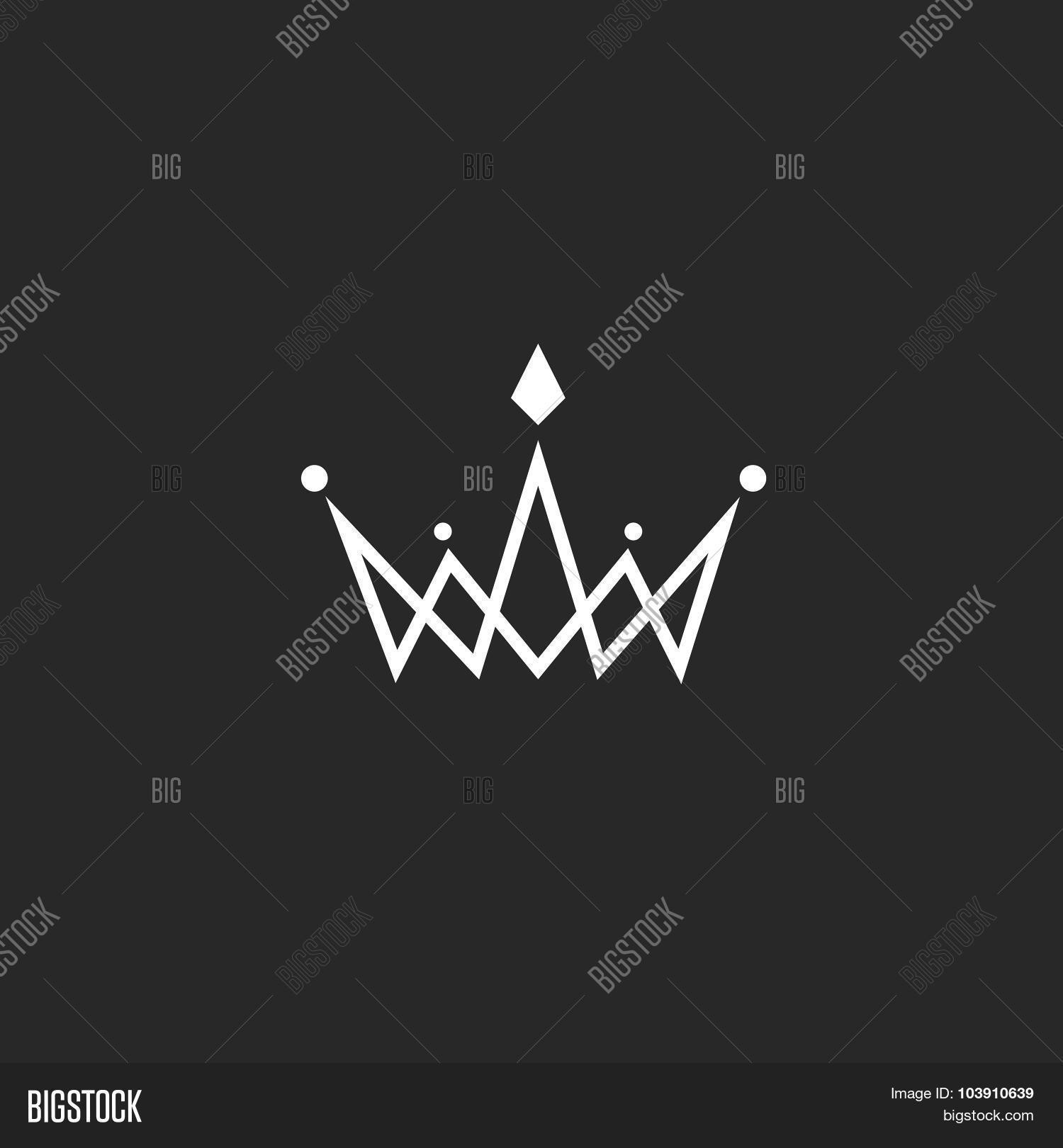 Crown Logo Monogram Vector Photo Free Trial Bigstock