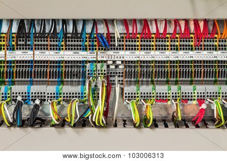 Electrical Connection In Control Cublicle