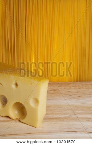 Cheese In The Front Of Spaghetti