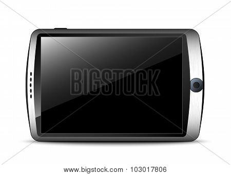 Generic Smartphone In The Original Design. Vector Illustration