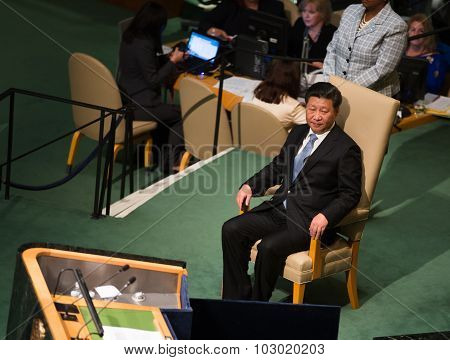 Xi Jinping On 70Th Session Of The Un General Assembly