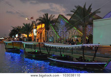 Egypt pavilion at Global Village in Dubai, UAE