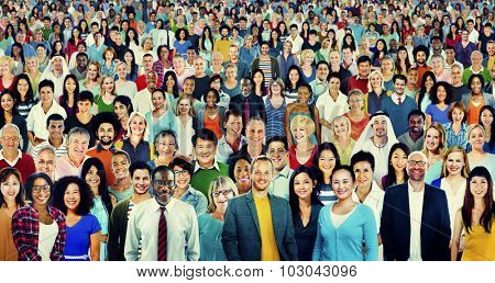 People Diversity Ethnicity Crowd Society Group