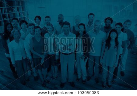 Group of Business People Teamwork Community Concept