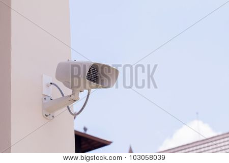 security camera and urban video