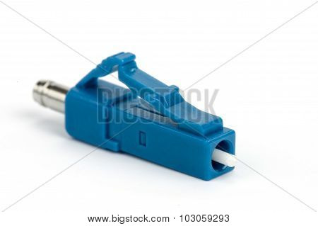 Blue Fiber Optic Lc Connector