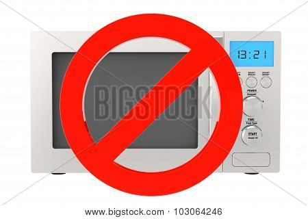 No Microwave Oven Icon