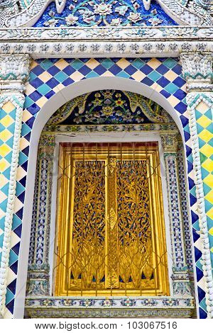 Gold    Temple    Bangkok  Thailand Incision Of The Temple