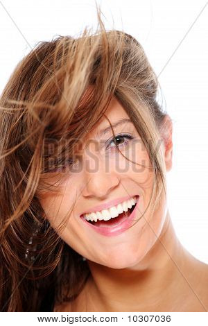 Young Happy Woman