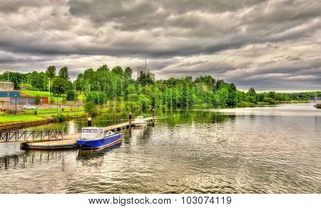 The River Bann In Coleraine - Northern Ireland