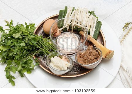 Seder Plate, Passover