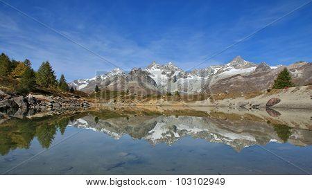 Onset Of Autumn In Zermatt