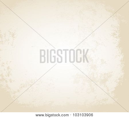 Vintage Old Paper Texture Vector Background
