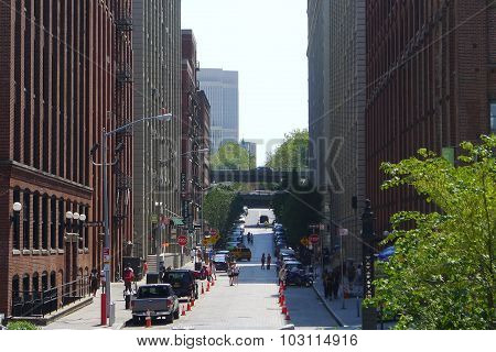 Washington Street at Dumbo (Brooklyn)
