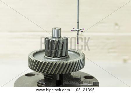 Inspection Automotive Gear Dimension