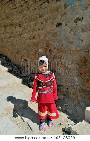 Little Yemeni Girl