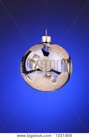 Blue And Silver Ornament