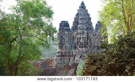 Angkor Wat Gateway, Cambodia