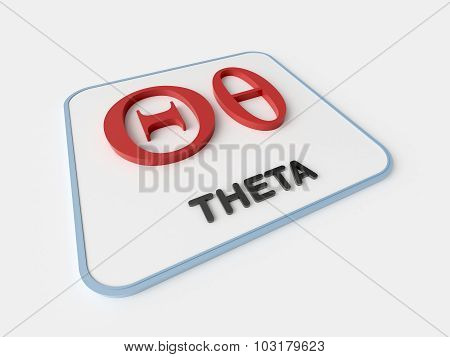 Theta Greek Symbol