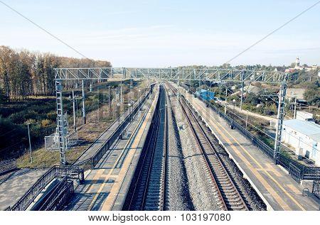 Bogolyubovo railroad station