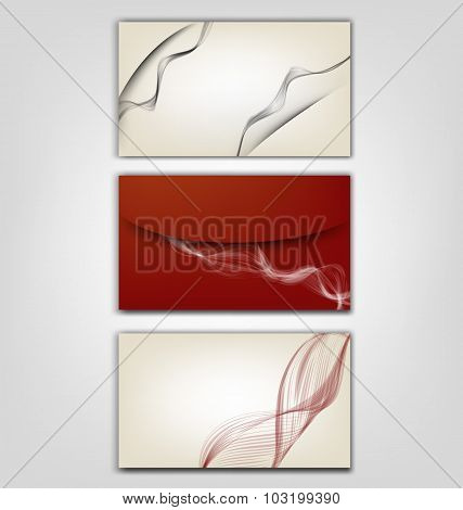 Style of business card